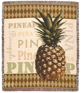PINEAPPLE TAPESTRY THROW - Noisette Place