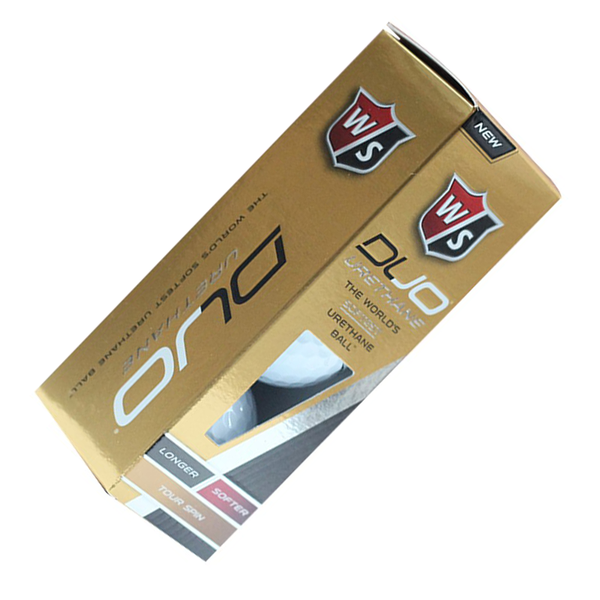 GOLF W/S DUO URETHANE 3-BALL