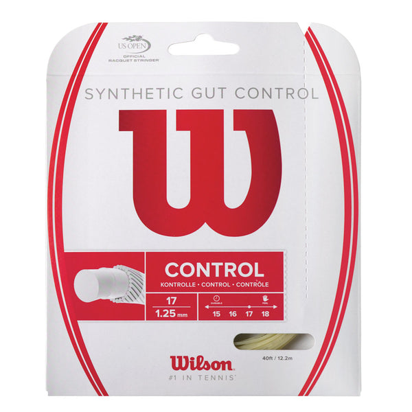 SYNTHETIC GUT CONTROL 17 TENNIS STRING
