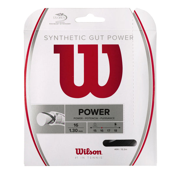 SYNTHETIC GUT POWER 16 TENNIS STRING