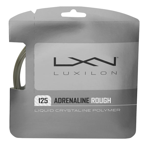 LUXILON ADRENALINE 125 ROUGH TENNIS STRING SET - 16L GA (1.25MM)