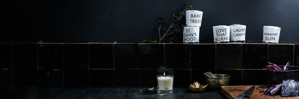 Tisane Candle Collection by Tatine