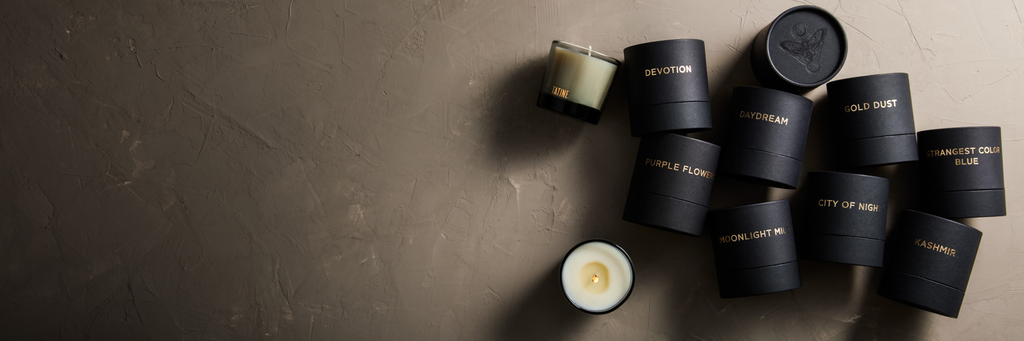 Dark, Wild + Deep Candle Collection by Tatine