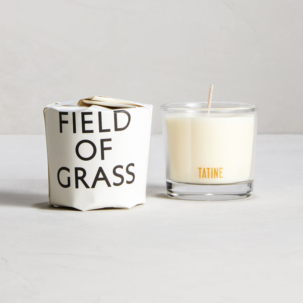 Field of Grass Votive Candle Case Pack of 6