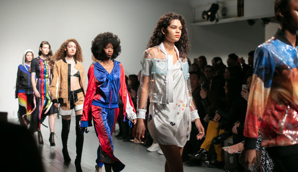 London Fashion Week sustainable fashion ethical womens clothing fabric for freedom