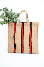 Load image into Gallery viewer, plastic free shopping organic cotton string bag for supermarket shopping