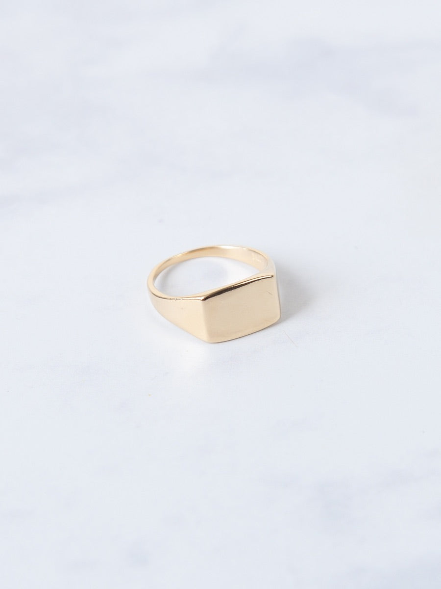 Gold Vermeil or Solid 925 Sterling Silver rings. Jewellery that is both sustainable and cool, ethically made jewellery using recycled materials.