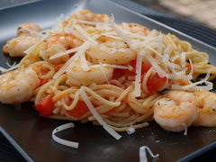 SHRIMP SPAGHETTI - HOMEMADE PASTA