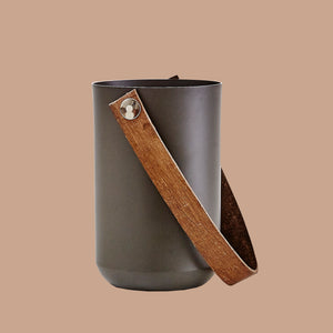 Load image into Gallery viewer, Utensil Holder | Aluminum | Leather Handle