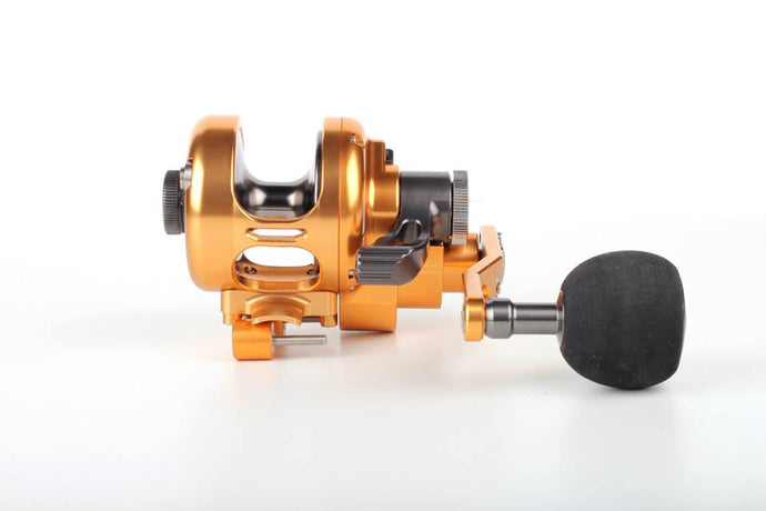 Poseidon jigging fishing overhead reel