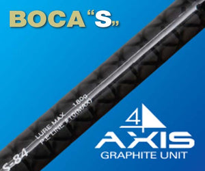 "NS Blackhole BOCA ""S"" Light Popping Rod (S842)"