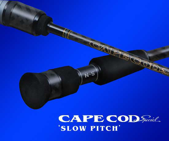 NS Blackhole Cape Cod Slow Pitch Jigging Rod (B662HMF)