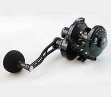 Load image into Gallery viewer, Poseidon NEXT 200 Jigging Reel Black Gunsmoke