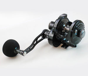 Poseidon NEXT 200 Jigging Reel Black Gunsmoke
