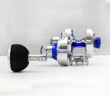 Load image into Gallery viewer, Poseidon NEXT 200 Jigging Reel Silver Blue