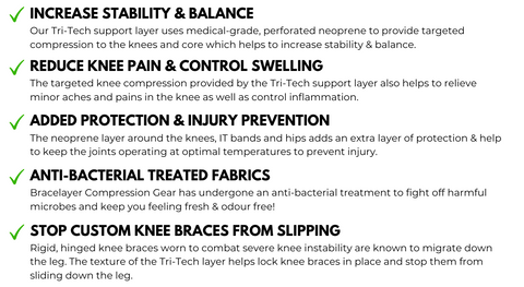 Bracelayer Cycling Pant Benefits of Compression Gear