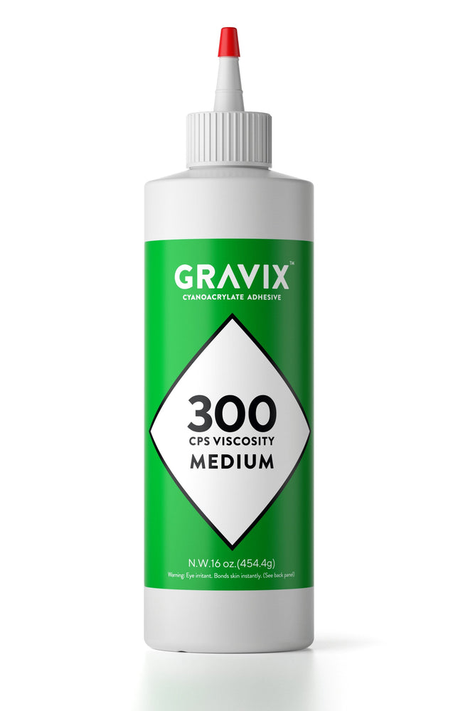 Gravix Pro Line - Super Large 16 OZ (453-gram) Bottle with Protective Cap - Medium 300 CPS Viscosity