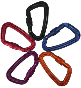 Screwgate Locking D Carabiner
