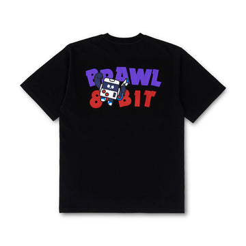 BRAWL STARS 8-BIT BLACK SHORT SLEEVE T-SHIRT