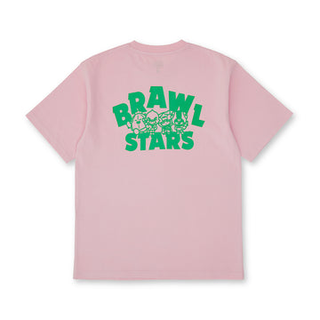 BRAWL STARS LEGENDARY GROUP PINK SHORT SLEEVE T-SHIRT