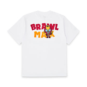BRAWL STARS MAX WHITE SHORT SLEEVE T-SHIRT