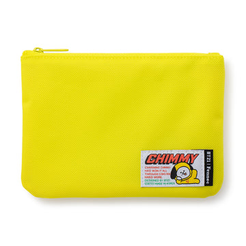 CHIMMY YELLOW FLAT POUCH
