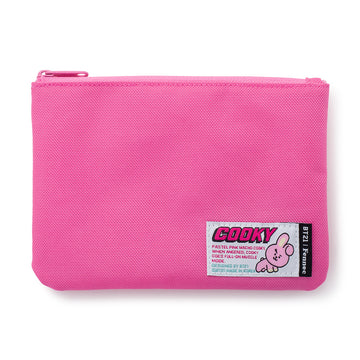 COOKY PINK FLAT POUCH