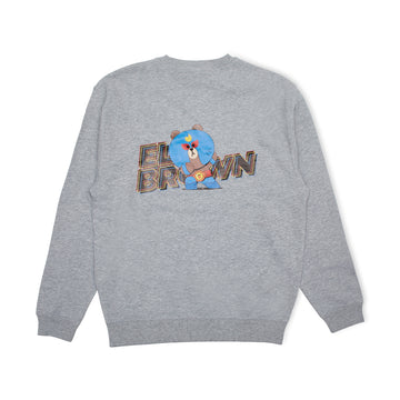 BRAWL STARS ELBROWN GRAY SWEATSHIRT (S - XL)