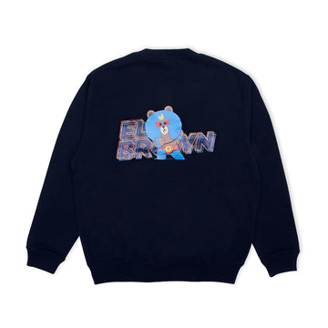 BRAWL STARS ELBROWN NAVY SWEATSHIRT (S - XL)