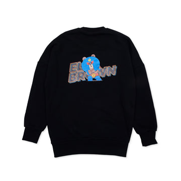 BRAWL STARS ELBROWN BLACK SWEATSHIRT (XXXS - XS)