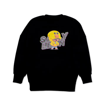 BRAWL STARS SALLYLEON BLACK SWEATSHIRT (XXXS - XS)