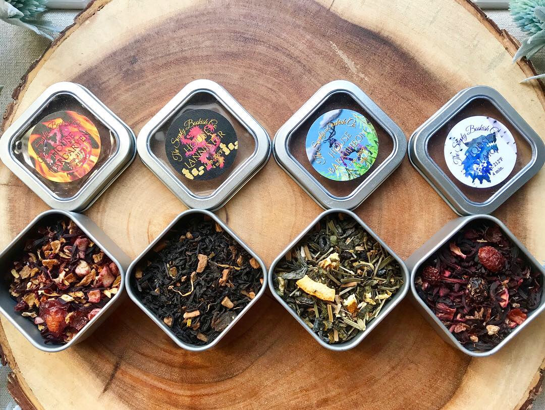 House Targaryen- Game of thrones  Loose leaf tea