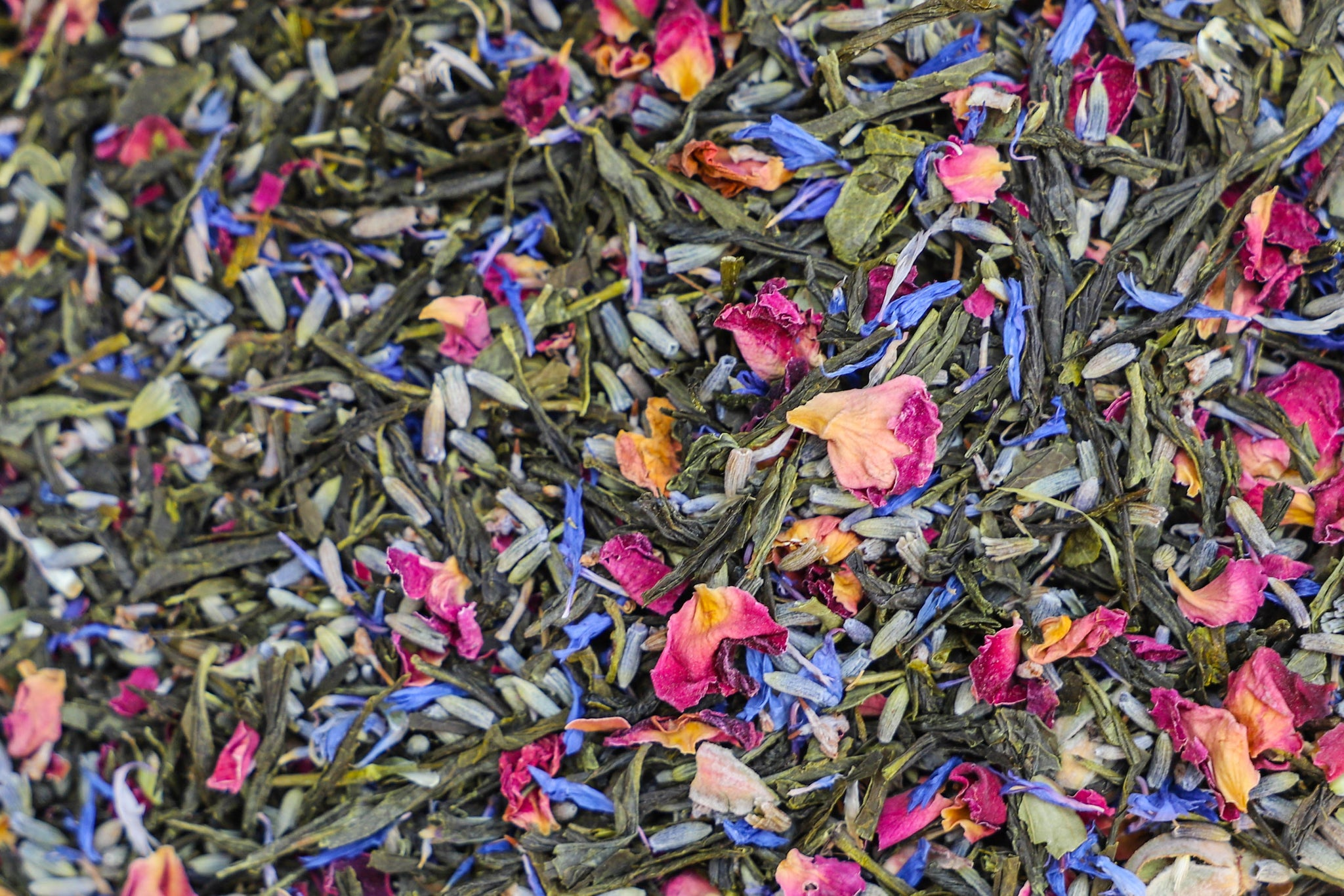 """Austen""  Classic Author inspired - Botanical English Garden Green tea"