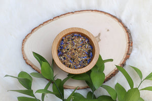 """Azriel"" Sarah J Maas inspired - Blueberry Muffin Herbal tea"