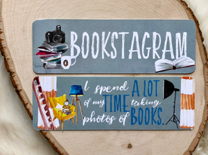 Bookstagram Double Sided Bookmark