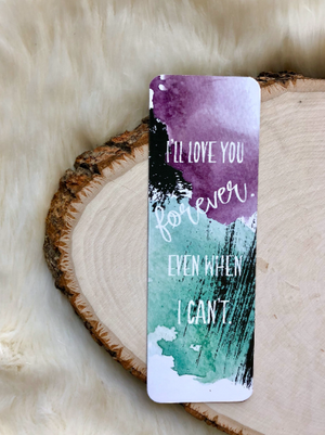 """Confess"" Colleen Hoover inspired Double Sided Bookmark"