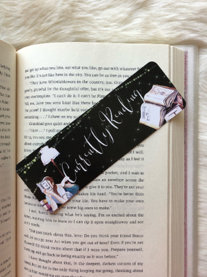 """Currently Reading"" Double Sided Bookmark"