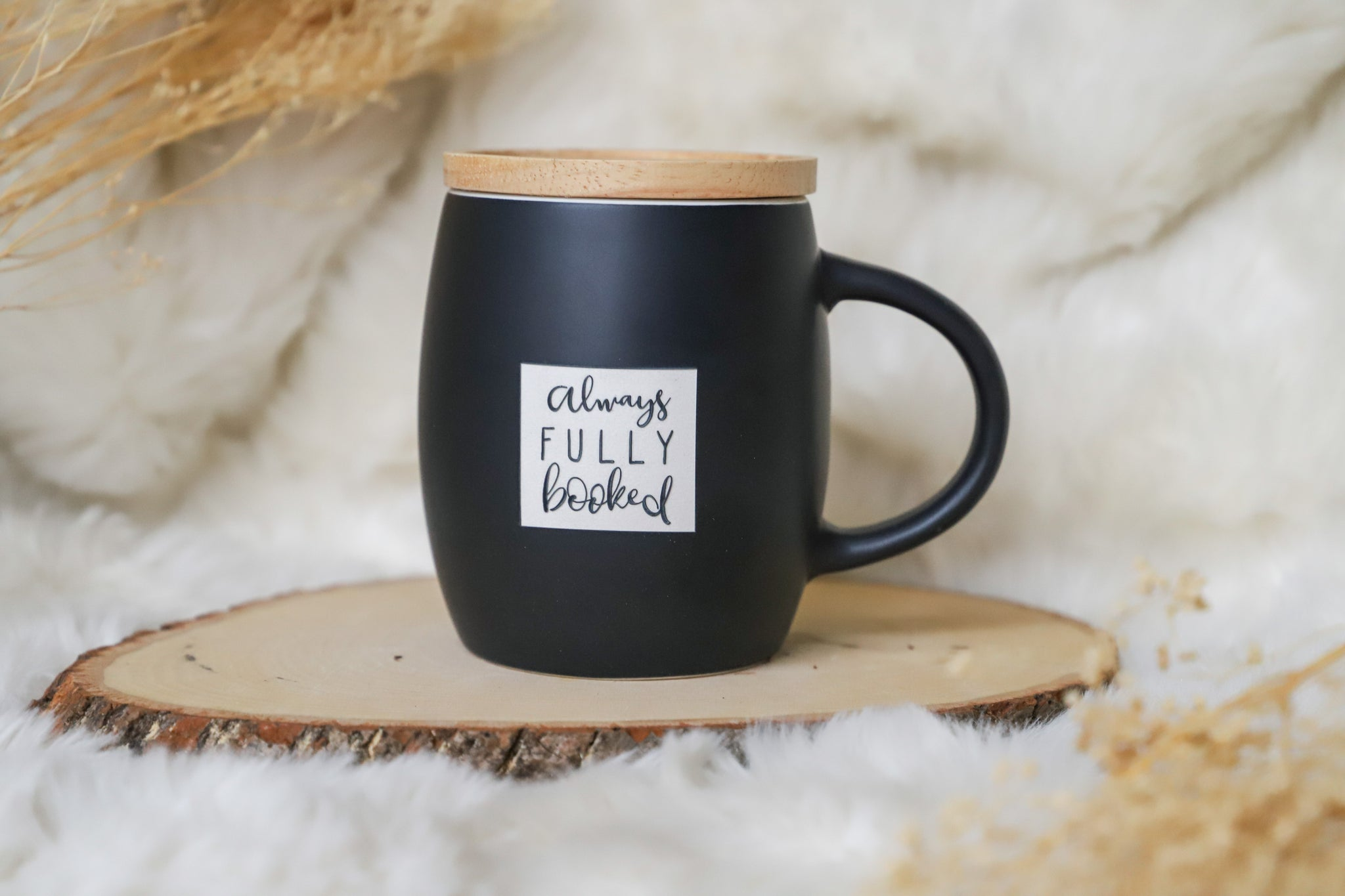 Always Fully Booked -  Bookish Mug