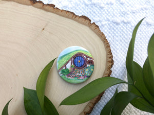 """Comfort"" Middle Earth inspired button"