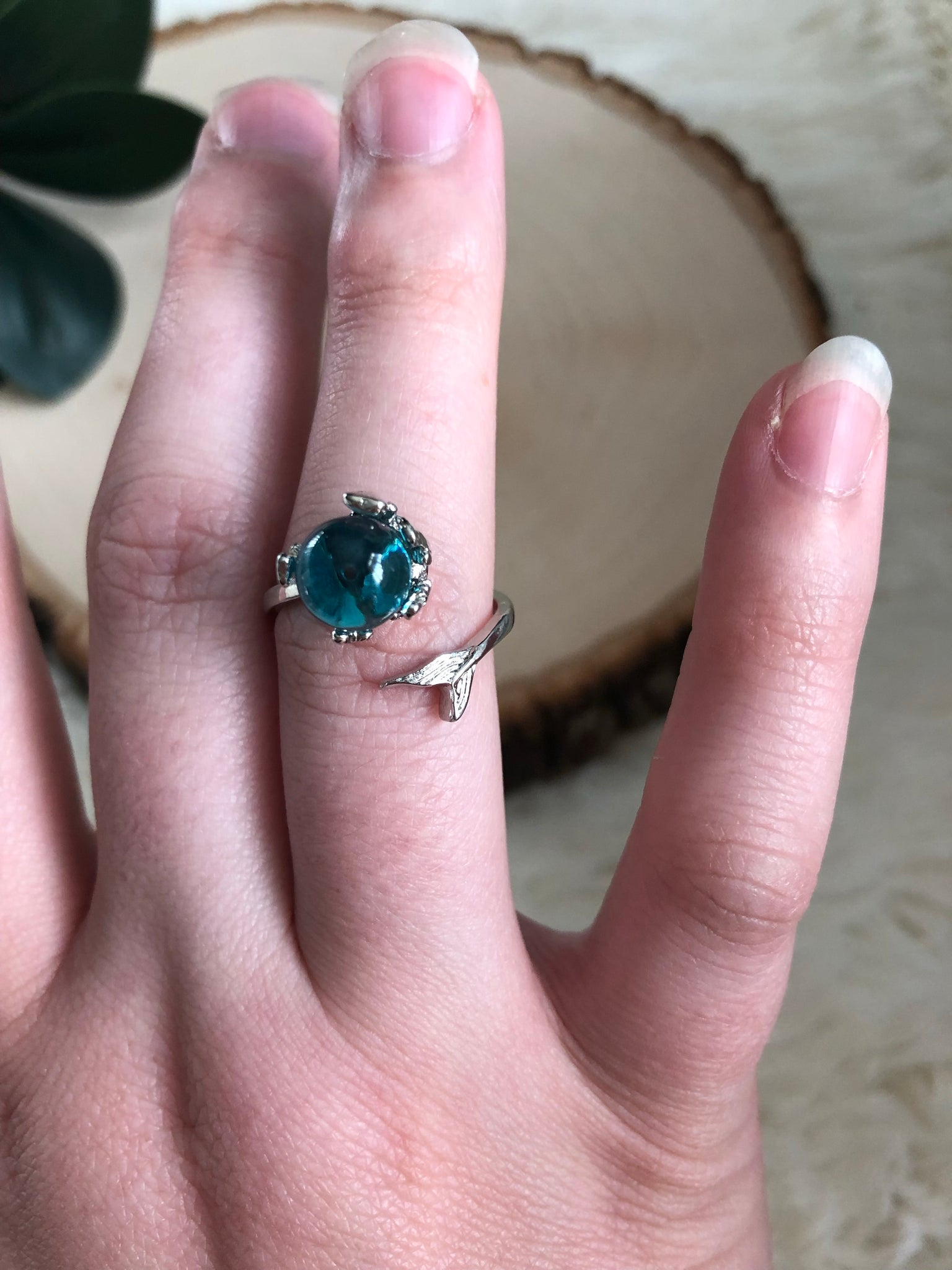 Little Mermaid inspired Ring