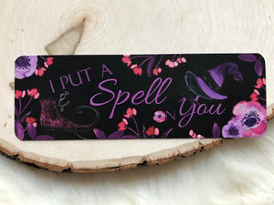 """Spell on You"" Double Sided Bookmark"