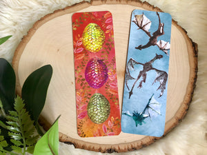 """Game of Thrones"" inspired Double Sided Bookmark character SeT"