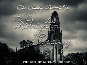 Midnight Dreary- Gothic Literature inspired - October set of the Month