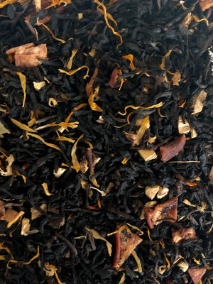 """Midas"" -  To Kill a Kingdom inspired  - Brandied Apricot and Peach Black loose leaf tea"