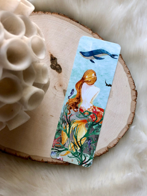 Mermaid Double Sided Bookmark