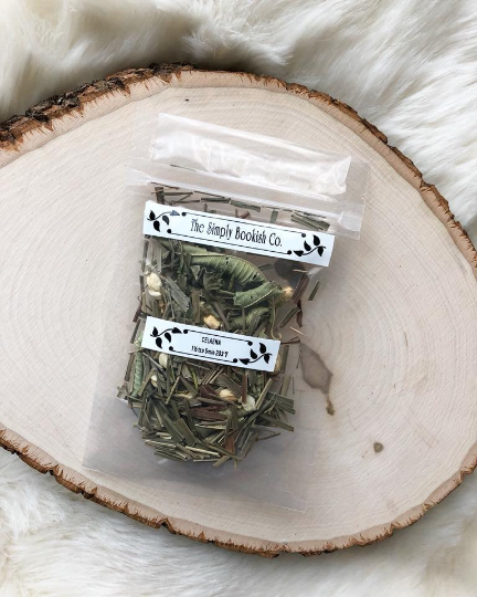 """Toss a Coin"" The Witcher inspired - Golden Apricot Tisane loose leaf tea"