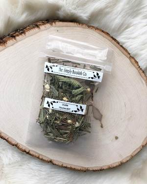 """Highmoor"" House of Salt and Sorrows inspired - Berry and Jasmine Tisane loose leaf tea"