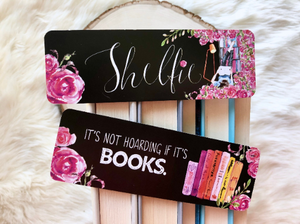 """Shelfie"" Double Sided Bookmark"