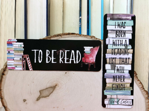 """To Be Read"" Double Sided Bookmark"