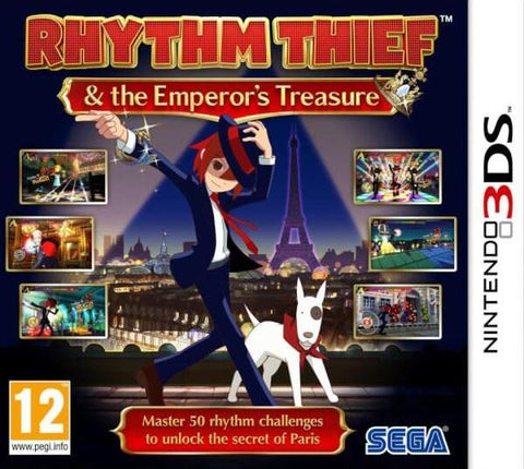 Rhythm Thief & the Emperor's Treasure (2DS/3DS)